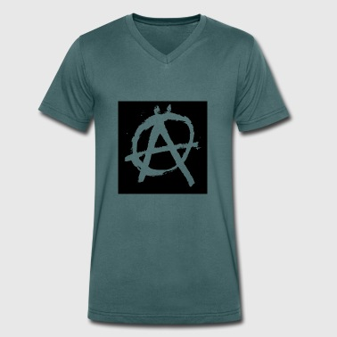Sons Of Anarchy anarchy - Men's Organic V-Neck T-Shirt by Stanley & Stella