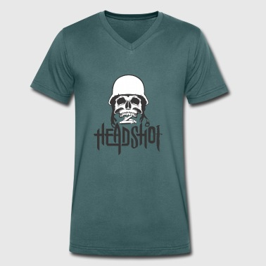 Head shot - Men's Organic V-Neck T-Shirt by Stanley & Stella