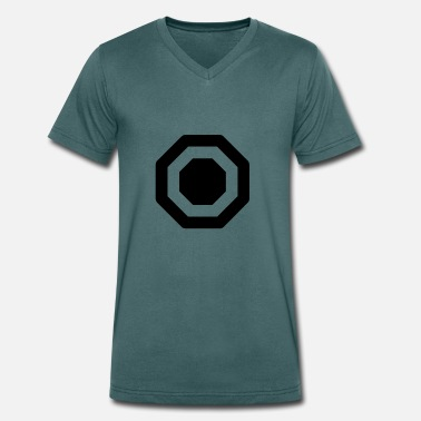 Octagon octagon - Men's Organic V-Neck T-Shirt by Stanley & Stella