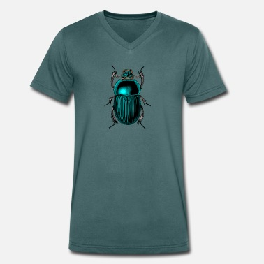 Insect Insek 94 - Men's Organic V-Neck T-Shirt by Stanley & Stella