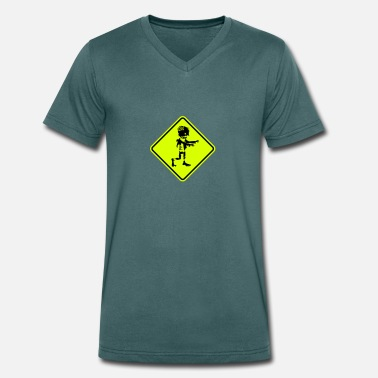 Zombie Zombie - Men's Organic V-Neck T-Shirt