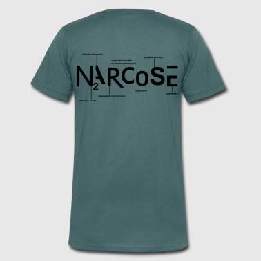 NARCOSE - T-shirt bio col V Stanley & Stella Homme