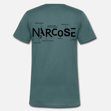 Narcose NARCOSE - T-shirt bio col V Stanley & Stella Homme
