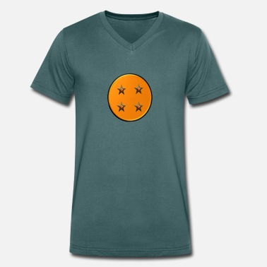 Ball 4-ball - Men's Organic V-Neck T-Shirt