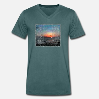 North sea - Men's Organic V-Neck T-Shirt by Stanley & Stella