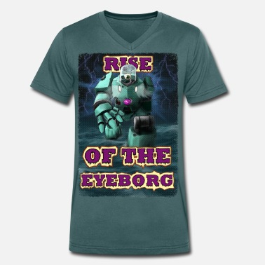 Horror Rise of the Eyeborg - T-shirt med V-ringning herr