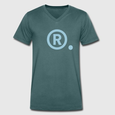 Rights reserved - Men's Organic V-Neck T-Shirt by Stanley & Stella