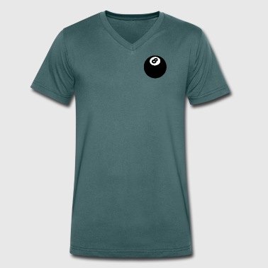8 Ball - Men's Organic V-Neck T-Shirt by Stanley & Stella
