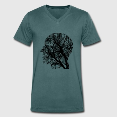 Head / head - Men's Organic V-Neck T-Shirt by Stanley & Stella
