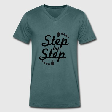 step by step 2 - T-shirt bio col V Stanley & Stella Homme