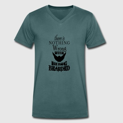 ther is nothing wrong - Men's Organic V-Neck T-Shirt by Stanley & Stella