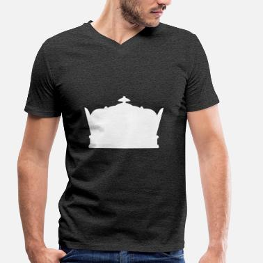 Crowns Crown · Crowns - Men's Organic V-Neck T-Shirt by Stanley & Stella