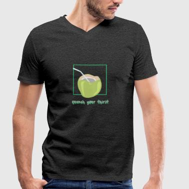 Quench your thirst - Men's Organic V-Neck T-Shirt by Stanley & Stella