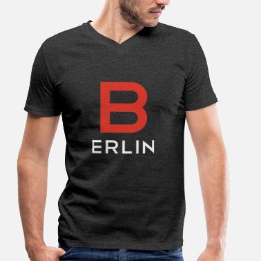 Germany Berlin Berlin Germany Shirt Berlin Germany - Men's Organic V-Neck T-Shirt by Stanley & Stella