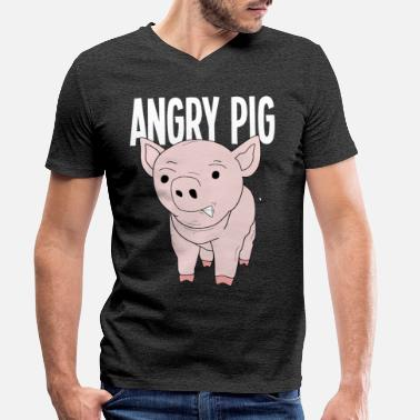 Piggy piggy - Men's Organic V-Neck T-Shirt