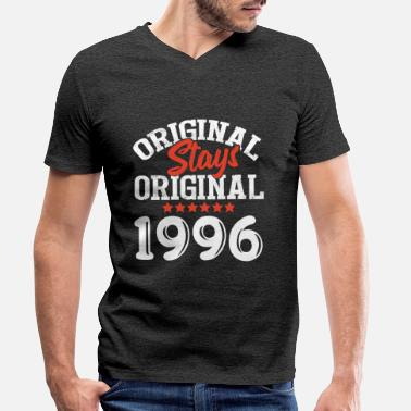 Original Stays Original 1996 - Men's Organic V-Neck T-Shirt