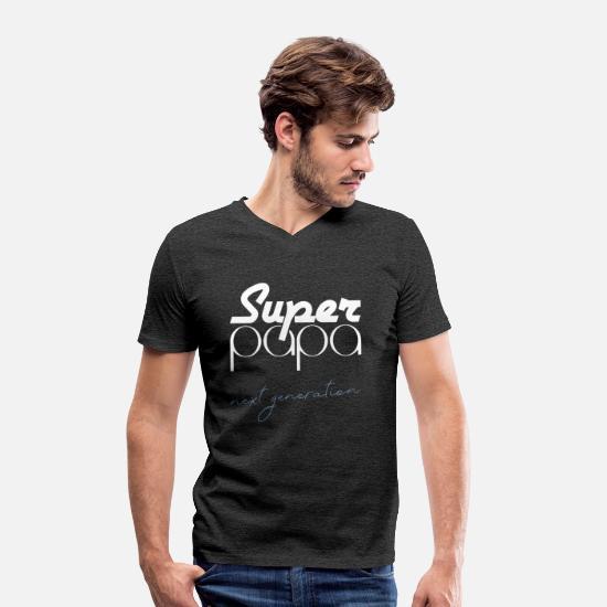 Neste generasjons super pappa t skjorte gave T skjorte med V