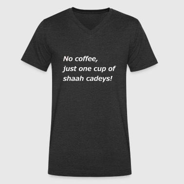 Somali tea - Men's Organic V-Neck T-Shirt by Stanley & Stella