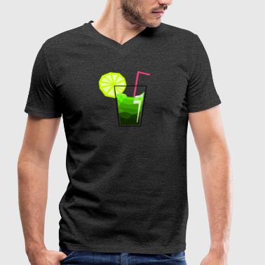 cocktail feeling - Men's Organic V-Neck T-Shirt by Stanley & Stella