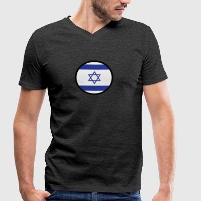 Under The Sign Of Israel - Men's Organic V-Neck T-Shirt by Stanley & Stella