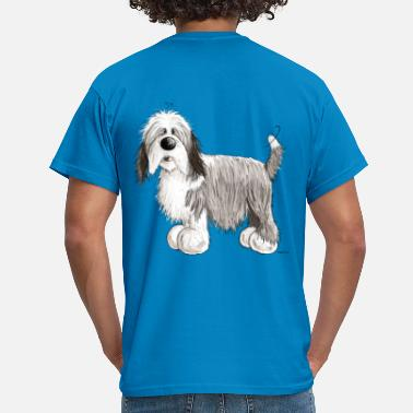 Bearded Collie The Bearded Collie - Men's T-Shirt