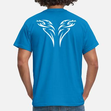 Flames tattoo 2 - Men's T-Shirt