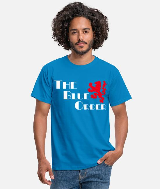 Therapy T-Shirts - rangers the blue order - Men's T-Shirt royal blue