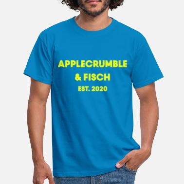 Blog applecrumble fish yellow - Men's T-Shirt