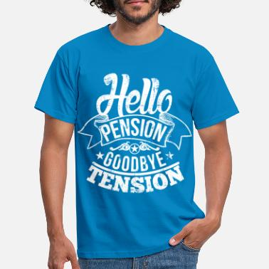 Rente Hello Pension - Männer T-Shirt