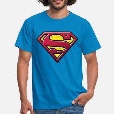 Kent Superman S-Shield Used Look 2 teenager's T-shirt - T-shirt mænd