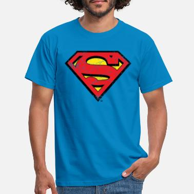 Superhelden DC Comics Superman Logo Used Look - Männer T-Shirt