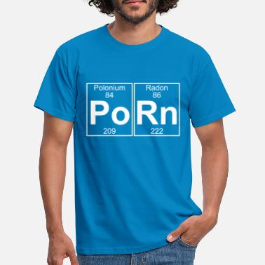 Porn Po-Rn (porn) - Full - Men's T-Shirt