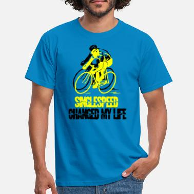 Single Speed Single speed - Mannen T-shirt