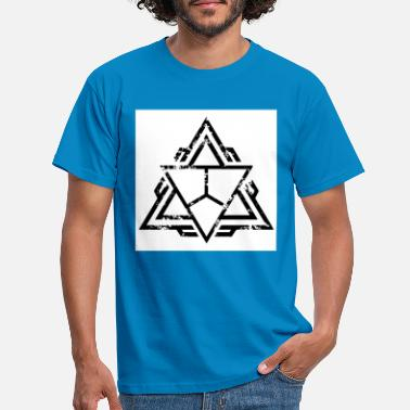 triangel - T-shirt herr