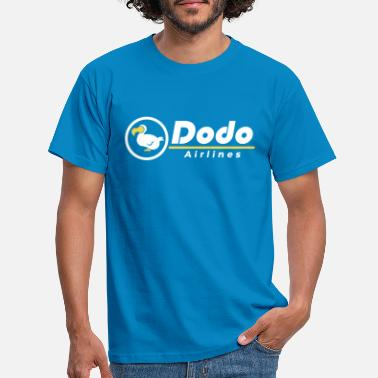 Airline Dodo Airlines - T-shirt mænd