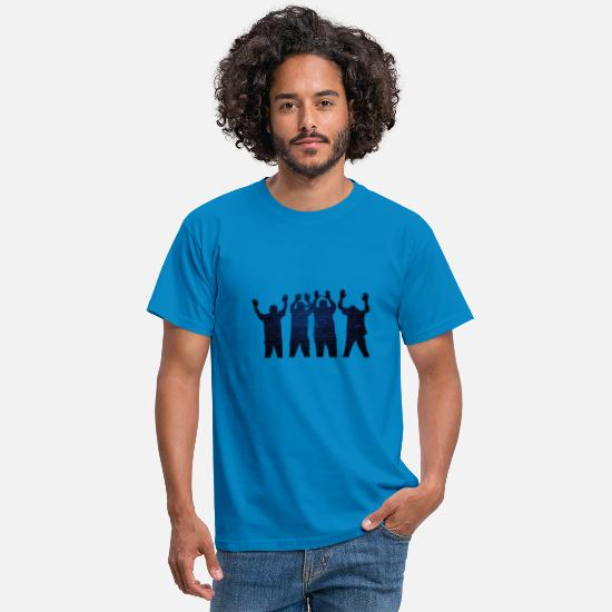Gangster T-Shirts - GANGSTER - Männer T-Shirt Royalblau