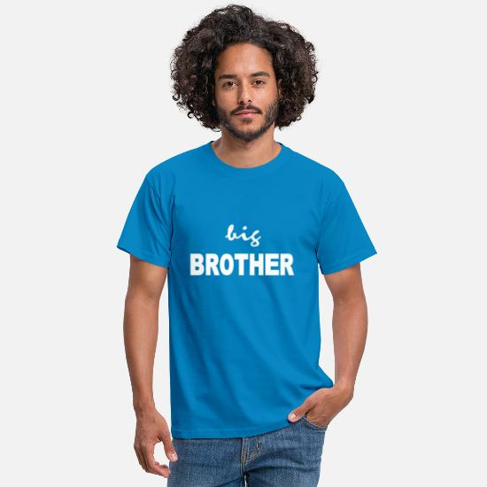Big Brother T-Shirts - big brother - Men's T-Shirt royal blue
