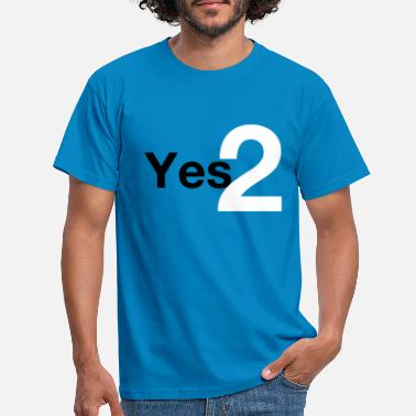 Independence Yes 2 Scottish Independence - Men's T-Shirt