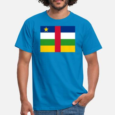 Central Central African Republic Flag - Men's T-Shirt