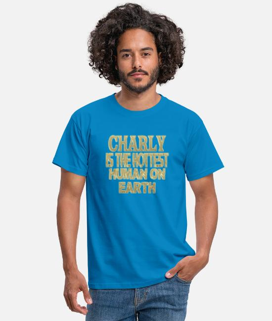 Charly Hot T-Shirts - Charly - Men's T-Shirt royal blue