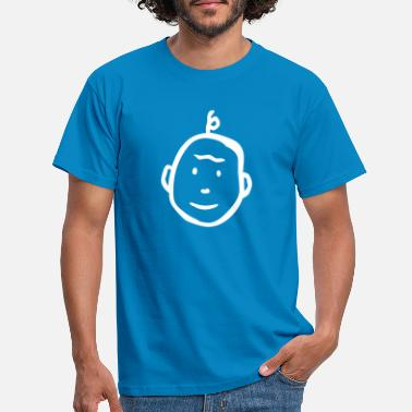 Emoticon child - Männer T-Shirt