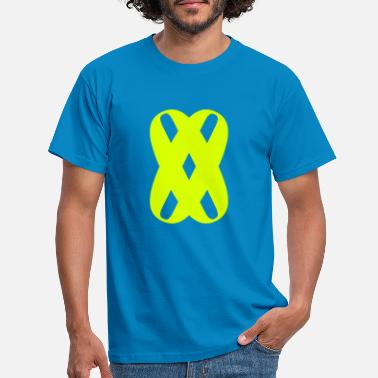 Noughts 00 Cross Noughts Symbol - Men's T-Shirt