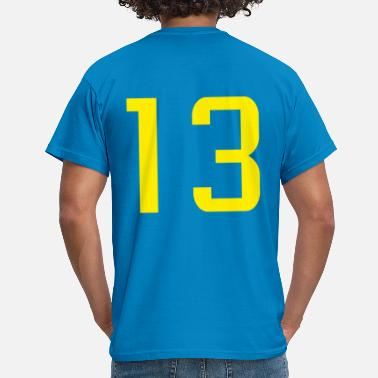 Thirteen Team number thirteen 13 - Men's T-Shirt