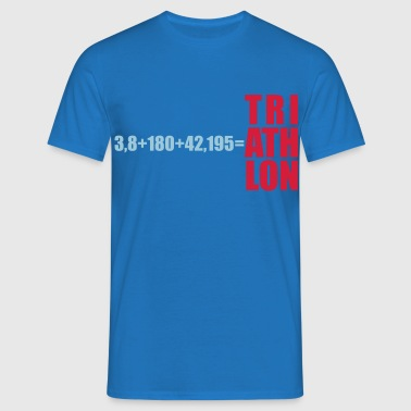 Triathlon Swim Bike Run - Männer T-Shirt