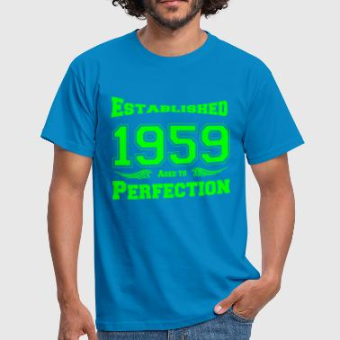 1959 Established - Männer T-Shirt