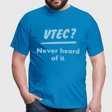 JDM What's VTEC ? | T-shirts JDM - Men's T-Shirt