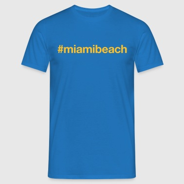 MIAMI BEACH - T-shirt herr