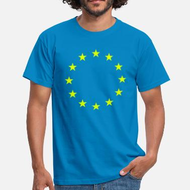 Anti-brexit Living EU Flag - Men's T-Shirt
