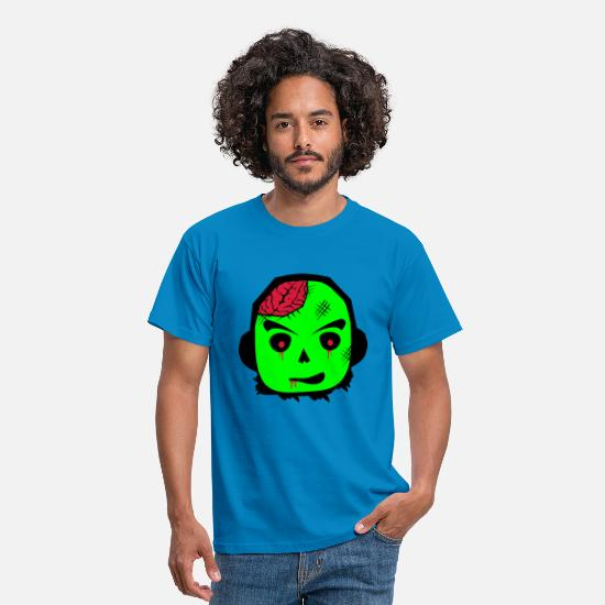 Zombie T-Shirts - zombie - Men's T-Shirt royal blue