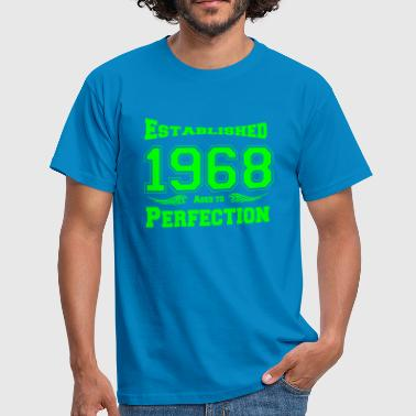 1968 Established - Männer T-Shirt
